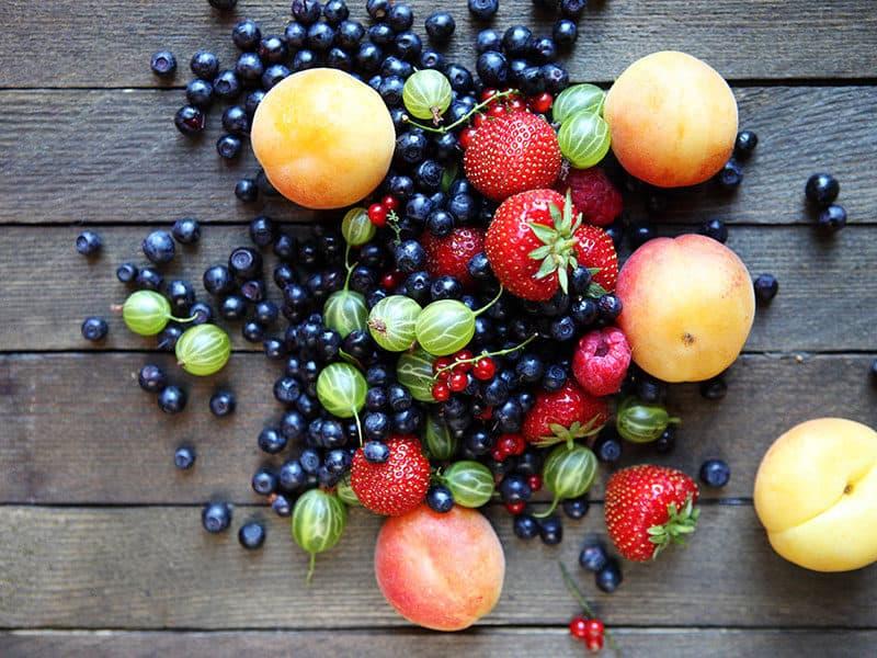Fresh Berries on Table
