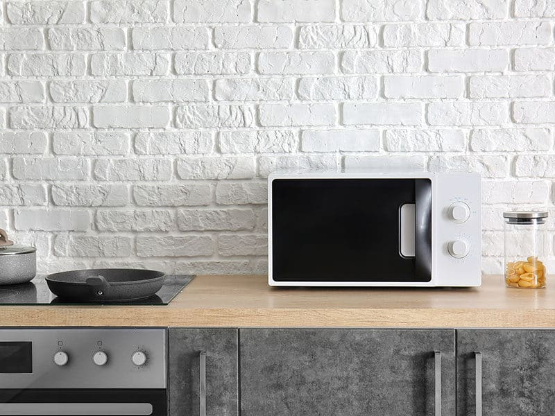 Modern Microwave Oven Kitchen