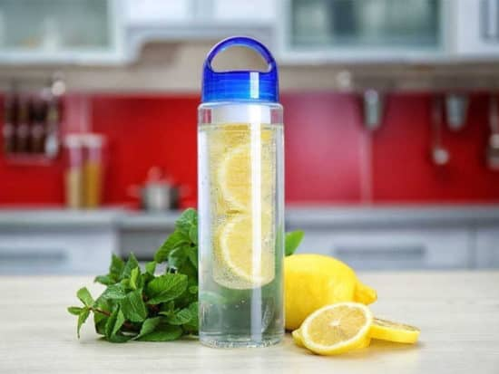 The fruit infuser water bottle is a special bottle to infuse your favorite fruit flavor into the water