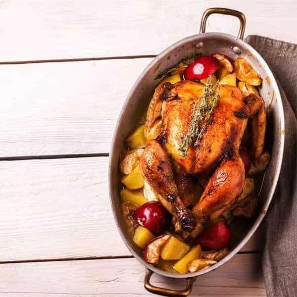 Apple and Herb Roasted Turkey