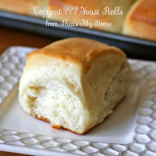 Butter Yeast Rolls