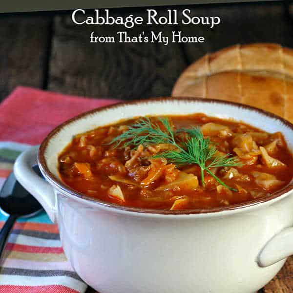 Cabbage Roll Soup