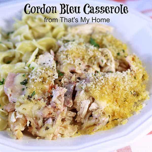 Cordon Bleu Casserole