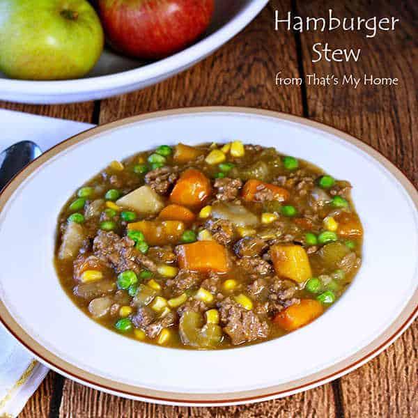 Srumptuous Classic Hamburger Stew
