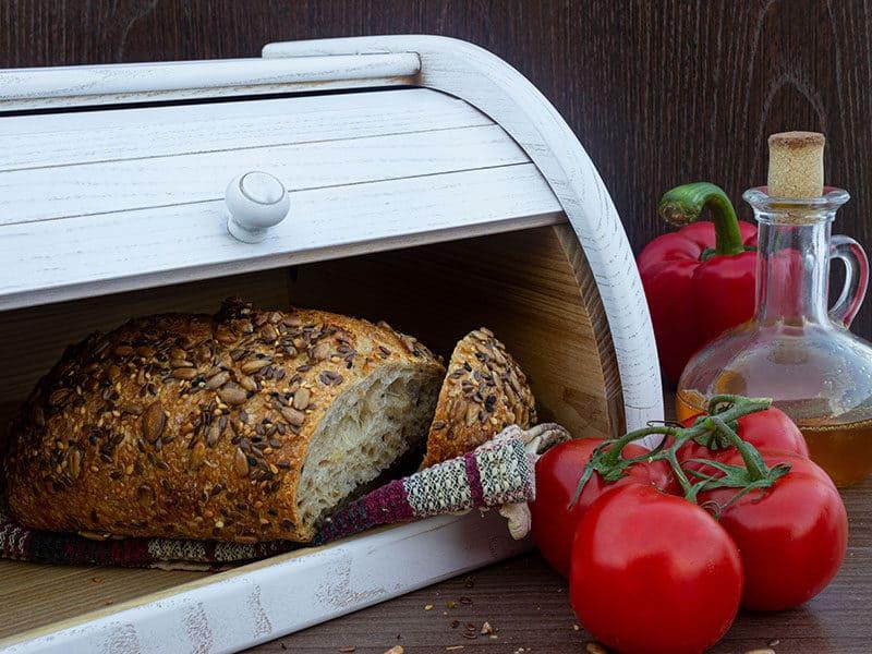 Baked Bread Seeds Sesame