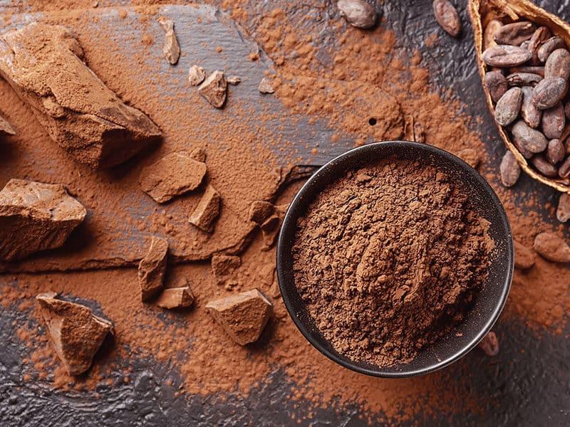 Cocoa Powder Beans Chocolate