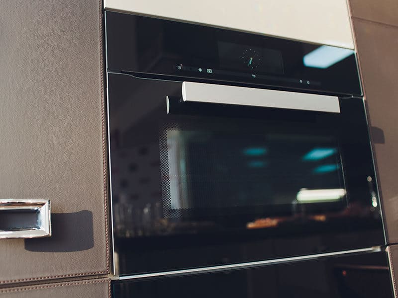 Wall Oven Isolated Household