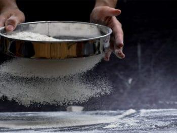 Clean A Flour Sifter