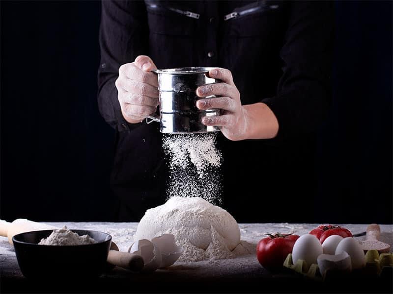 Dough On Table